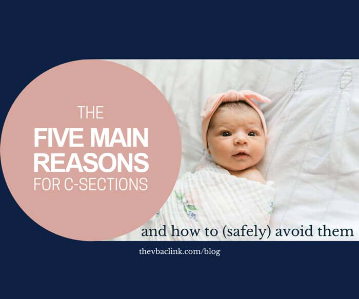 5 main reasons for c-sections